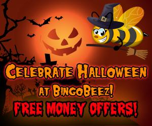 Bingo Beez Halloween Promotions